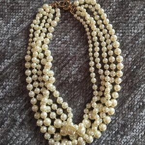 J crew pearls